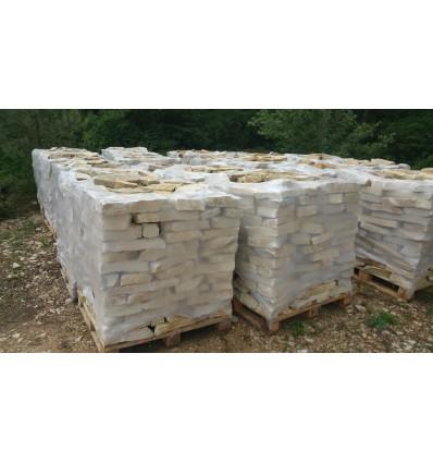 Mureuses tradition en pierre naturelle du Chatillonnais de 06 à 09 cm de hauteur